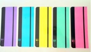 Bralna ravnila – komplet 5 barvnih ravnil